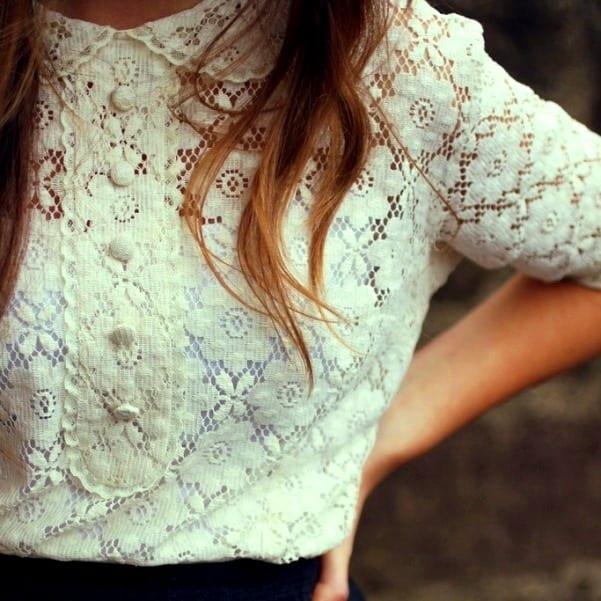 Кружевная Блузка Фото