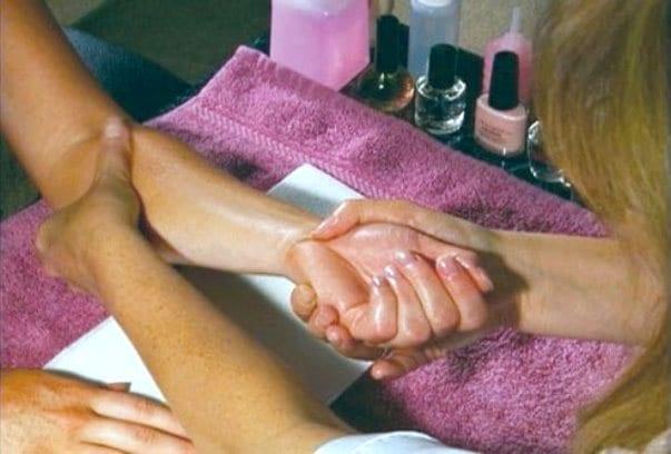 Салонная процедура массажа