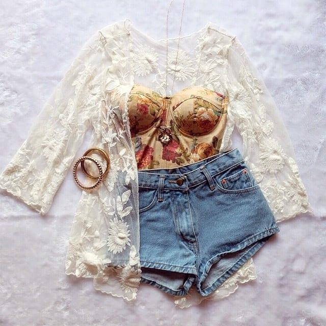 Стильные сочетания одежды