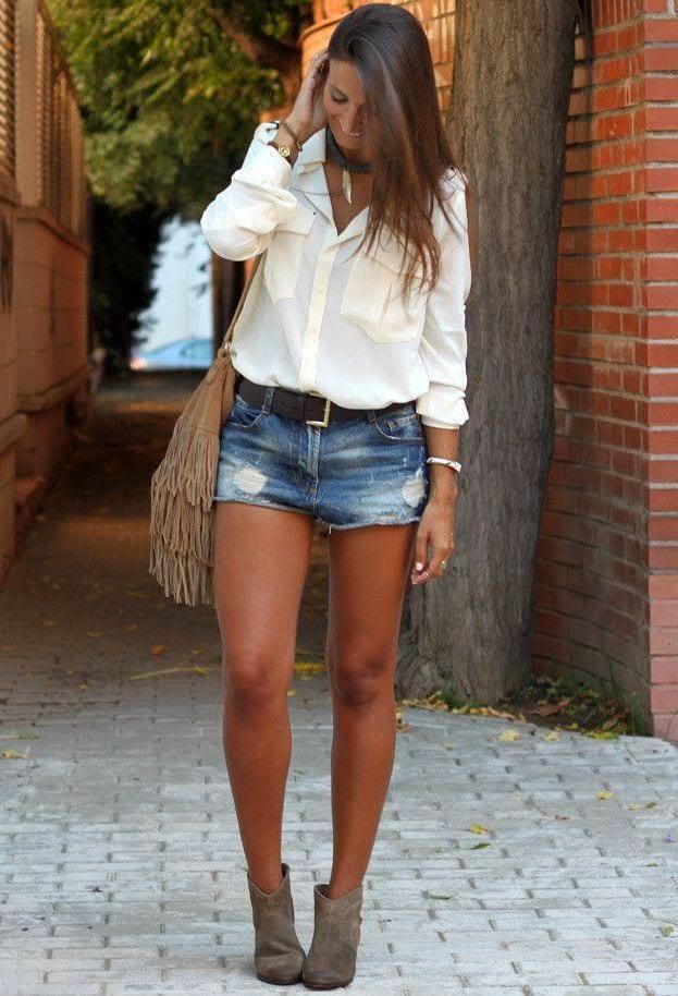Красивые сочетания одежды и обуви