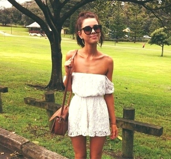 Короткие летние платья