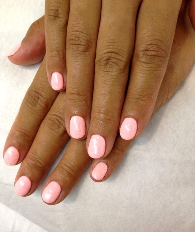 Красивое покрытие для ногтей