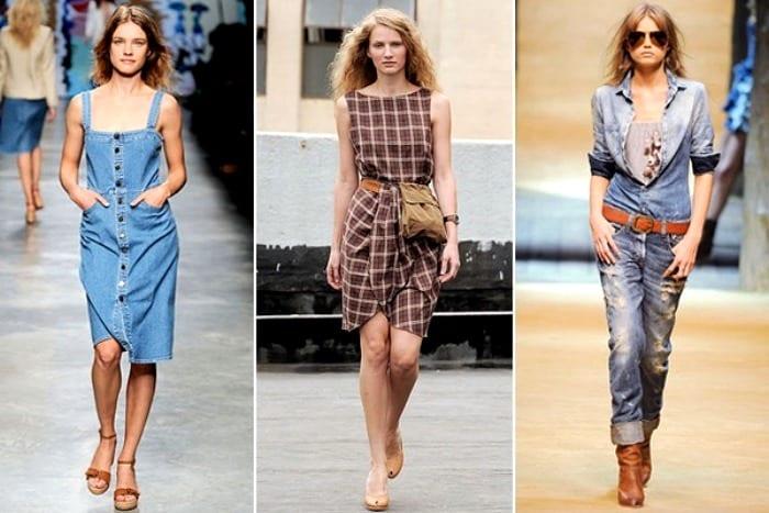 Одежда в кантри-стиле