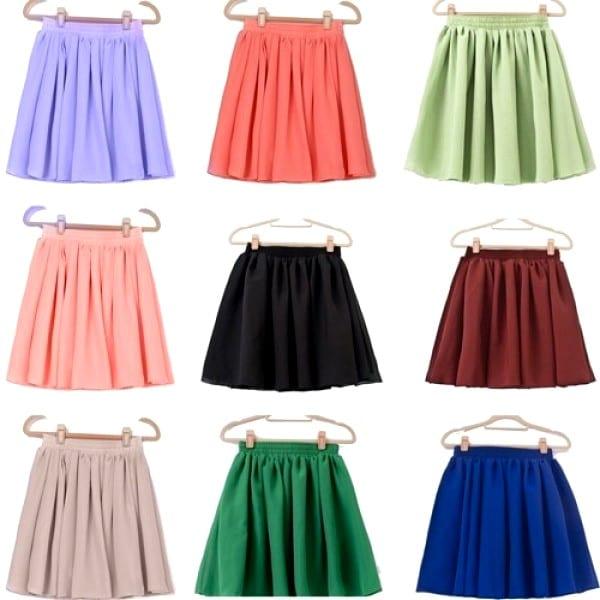 Цветные юбки