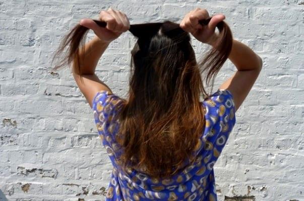 Замысловатые переплетения волос