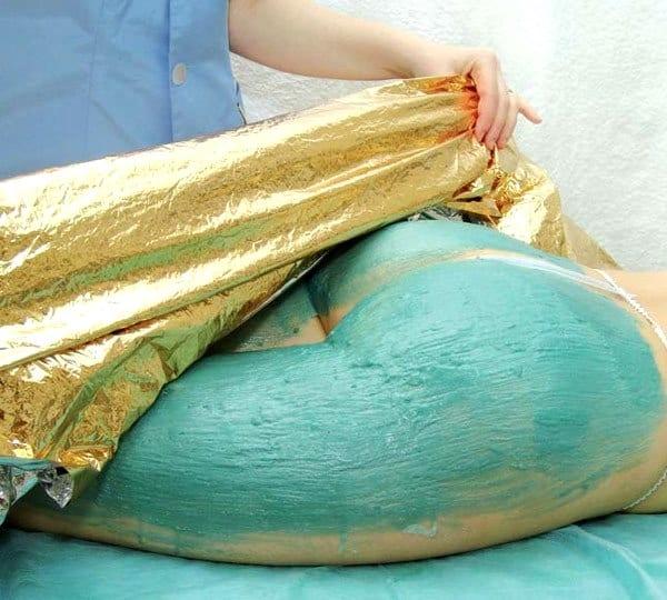 Обертывание голубой глиной