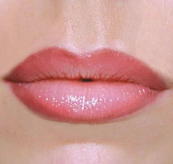 Градиентный макияж