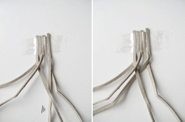 Плетем 5-прядную косичку