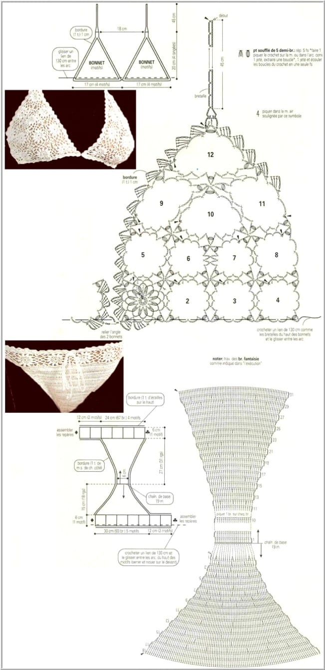 Плетение узоров на одежде