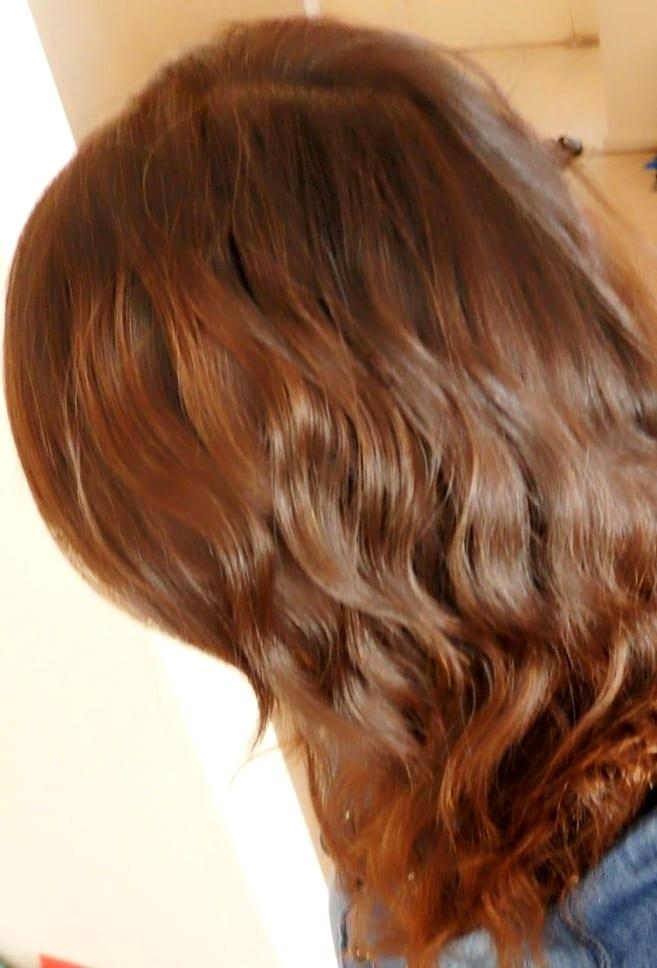 Цвет волос «молочный шоколад» ева лонгория в рекламе краски для волос