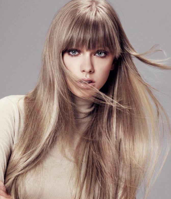 красивый цвет для блондинок волос фото