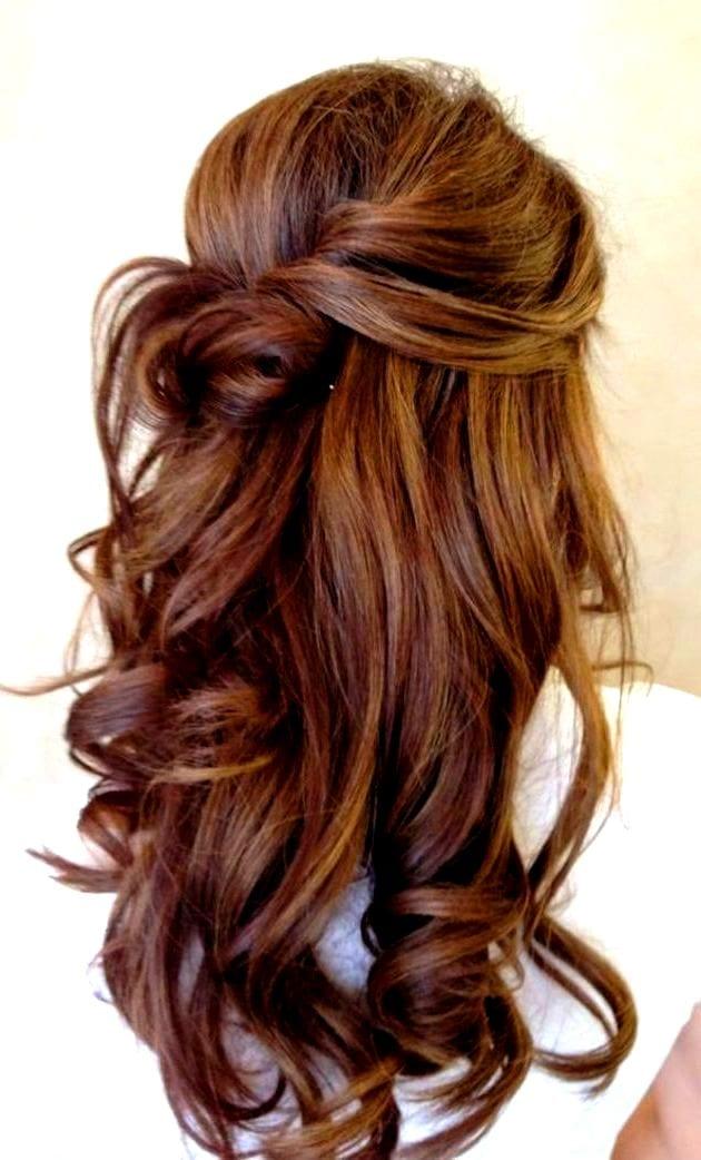 Прически каштановых волос