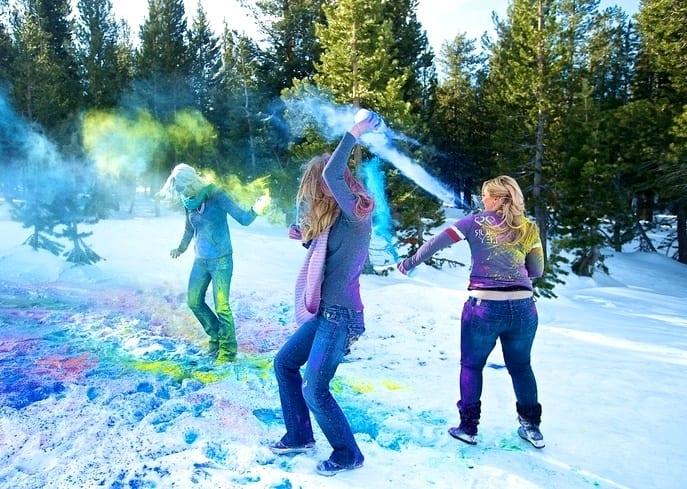 Игры на снегу