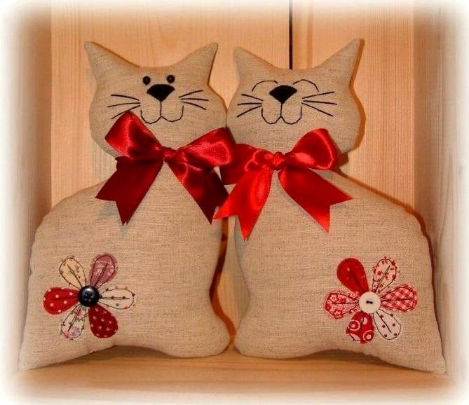 Кошки подушек своими руками 381