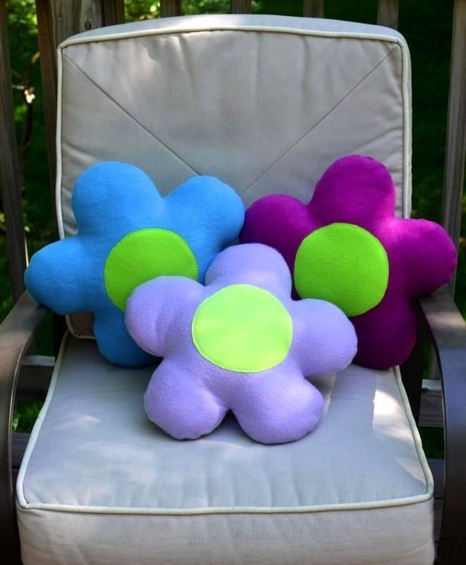 Ромашка-подушка