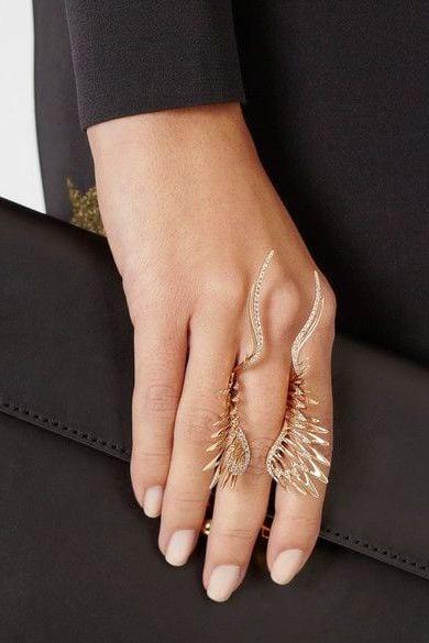 Кольцо на большой палец своими руками 17