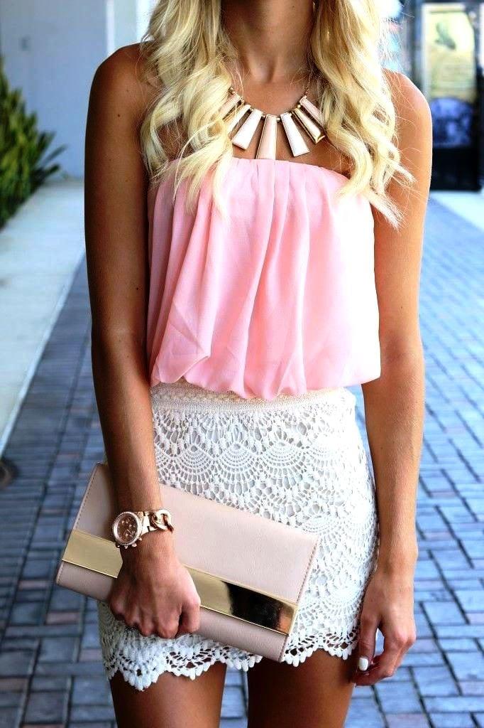 С чем носить розовый