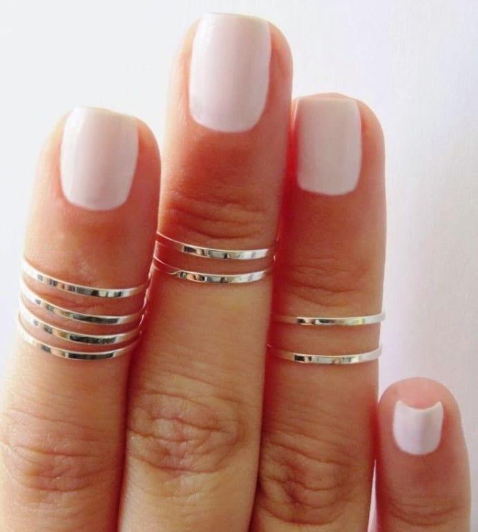 фото форма коротких ногтей