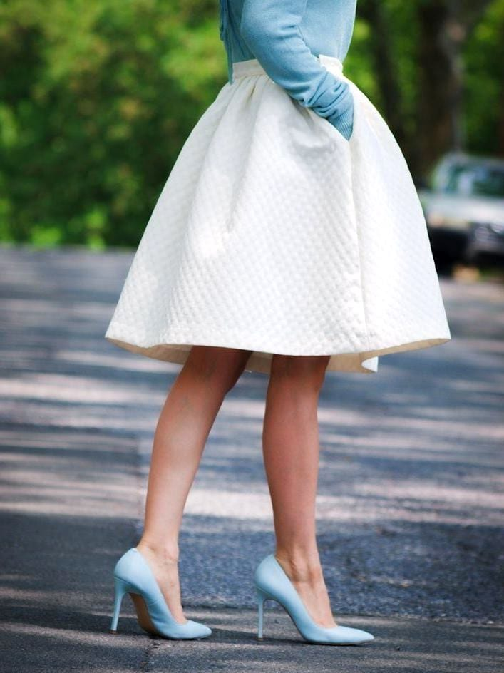 девочка в платьеце белом аккорды