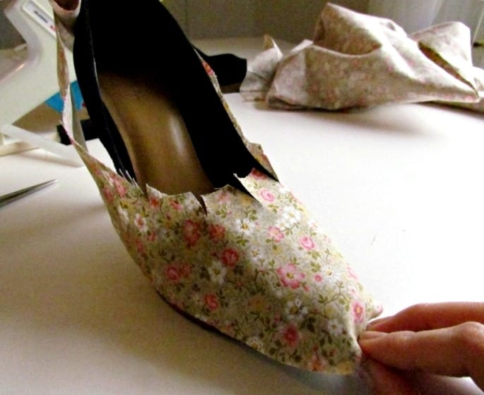 Туфли на каблуке своими руками фото 776
