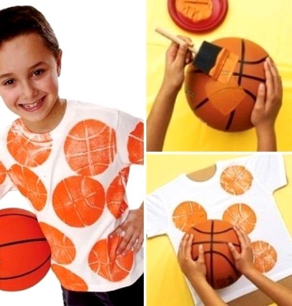 Футболка для мальчика своими руками
