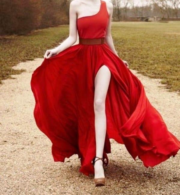Платье с изюминкой
