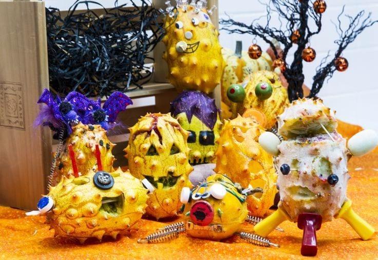 Игрушки из фруктов