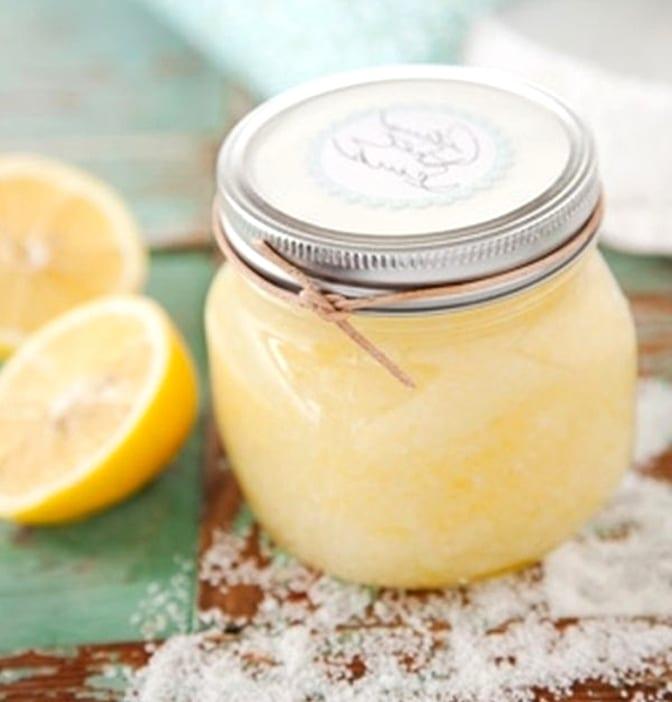 Лимонный пилинг в домашних условиях