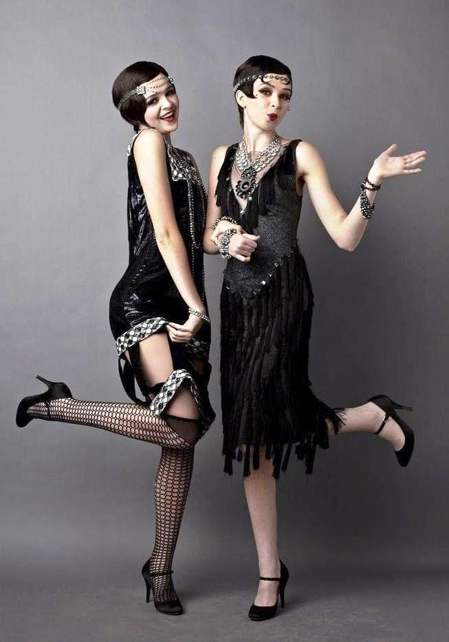Платья женщины в стиле чикаго