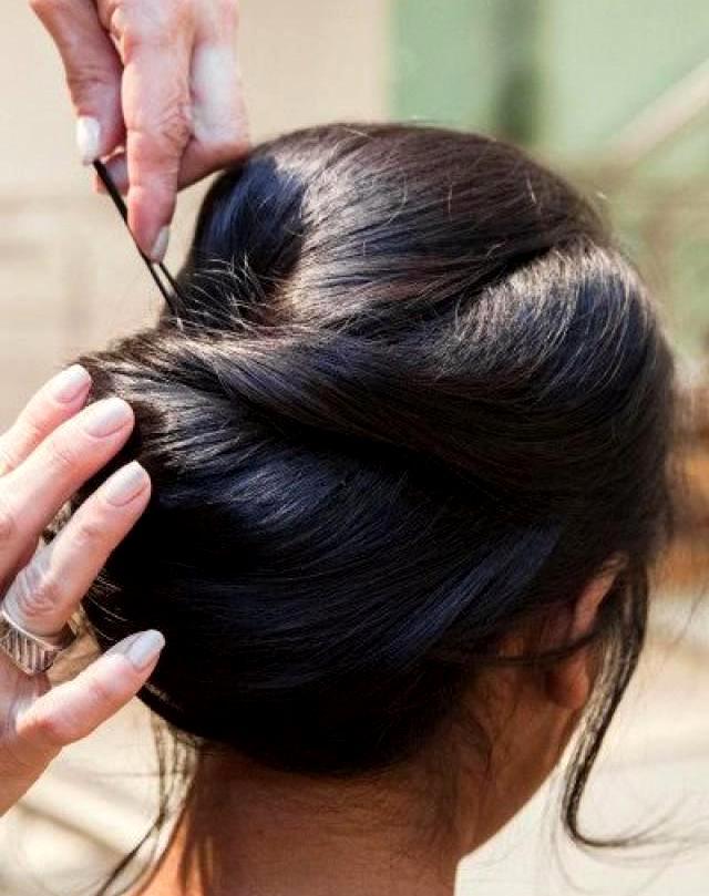 Причёски с валиком в домашних условиях