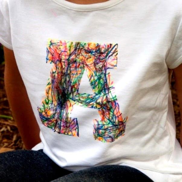 Сделать надпись на футболке своими руками