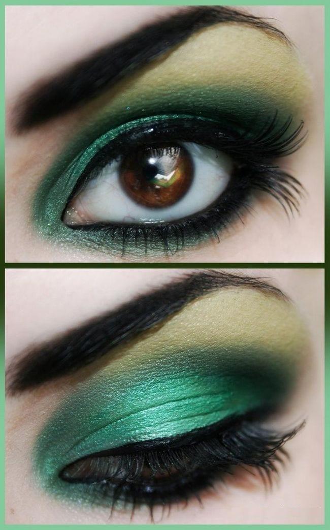 Темный макияж для глаз поэтапно для начинающих