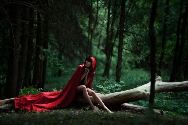 Девки фоткаются в лесу — img 7