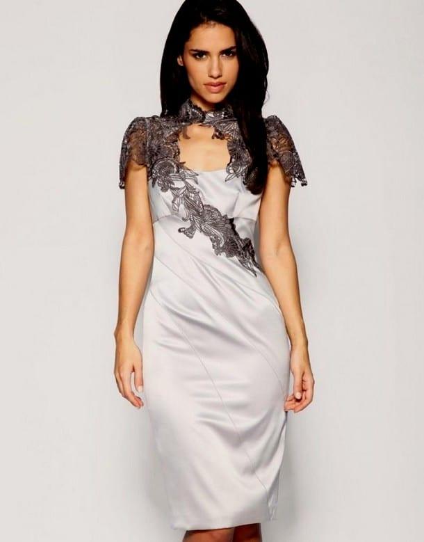 Вечернее платья с кружевом фото