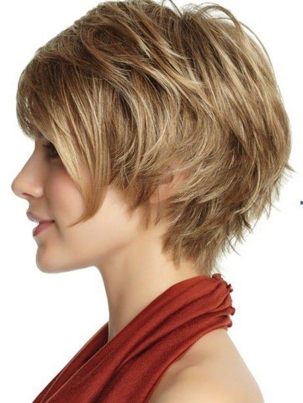 Модные стрижки 2017 на короткие волосы для женщин вид сзади