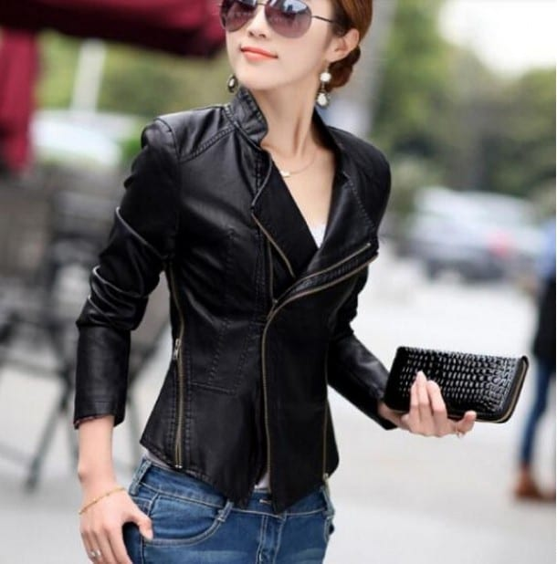 кожаные женские куртки фото 2016