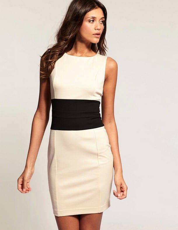 Платье футляр не облегающее