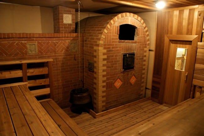 Стройка печи в баню