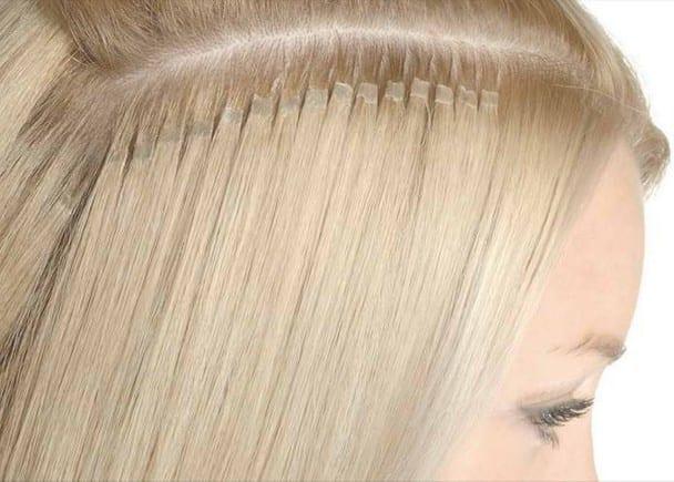 Цвет волос для редких волос