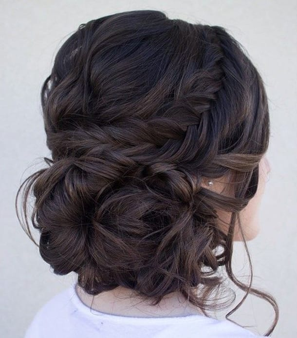 Прическа, пучок, волосы