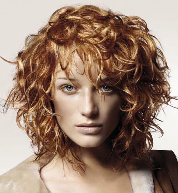 Если подстричь коротко кудрявые волосы