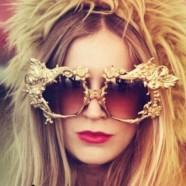 Стиль барокко в моде: солнцезащитные очки
