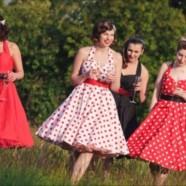 Платья в стиле 50-х