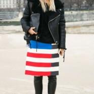 Новый тренд: юбка сверху брюк