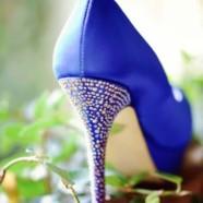 Синие туфли. С чем носить синие туфли?