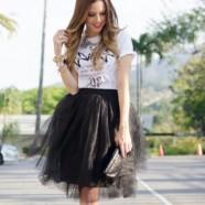 Черная юбка – не наскучит никогда