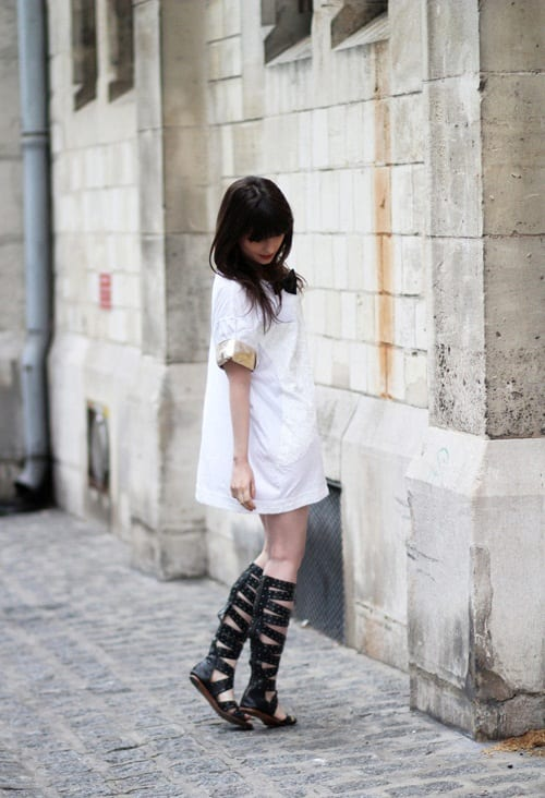 сандалии гладиаторы фото
