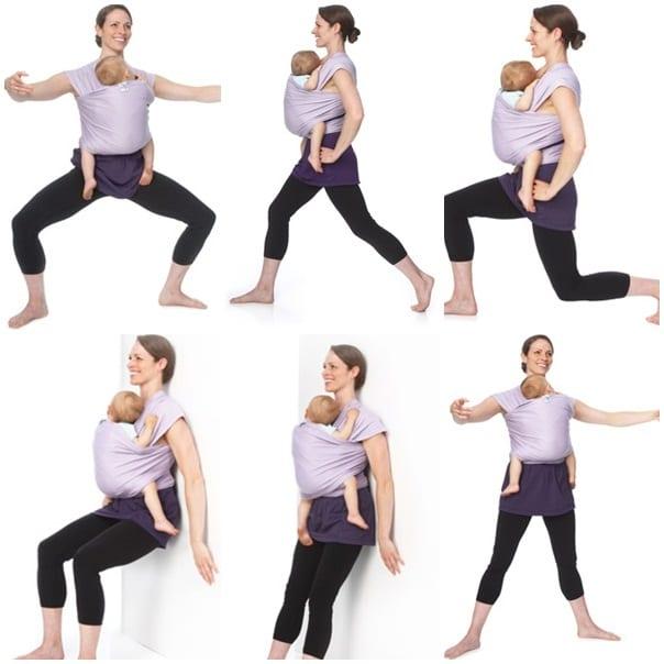 Похудеть после кесарева упражнения