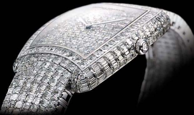 Часы с алмазами