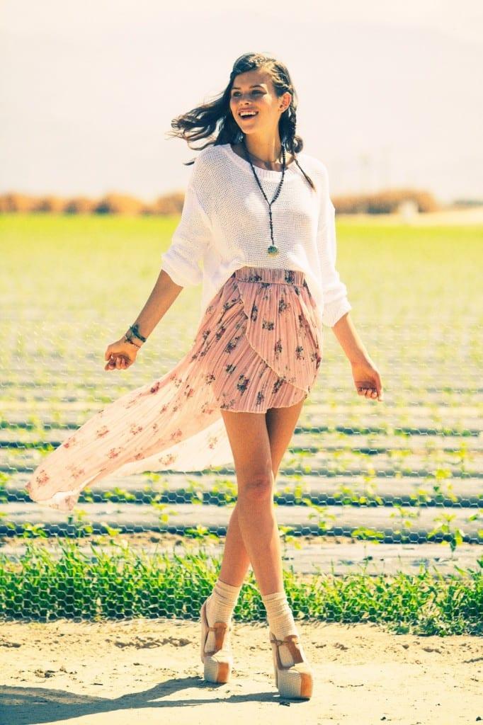 Одежда пастельных тонов